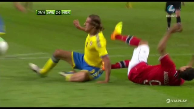 Sverige Norge highlights 2013: se Zlatans hattrick mot Norge