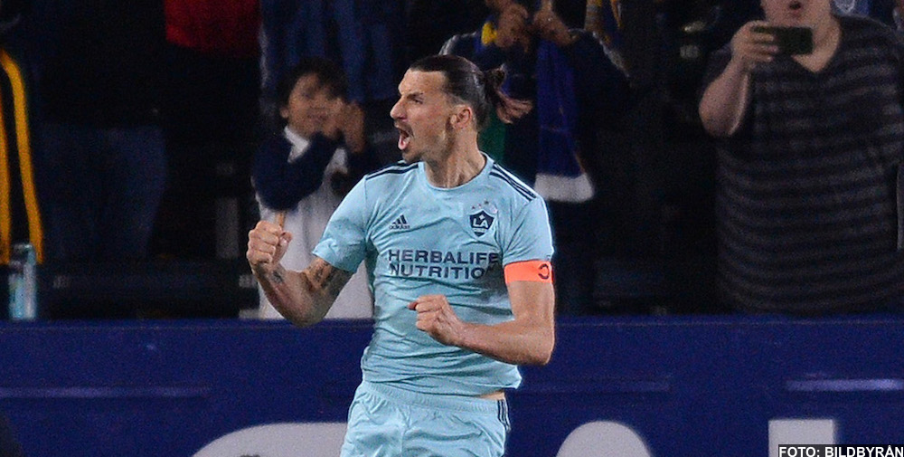 VIDEO: Zlatan Ibrahimovic mål mot Houston Dynamo (1-0) - 2019-04-20