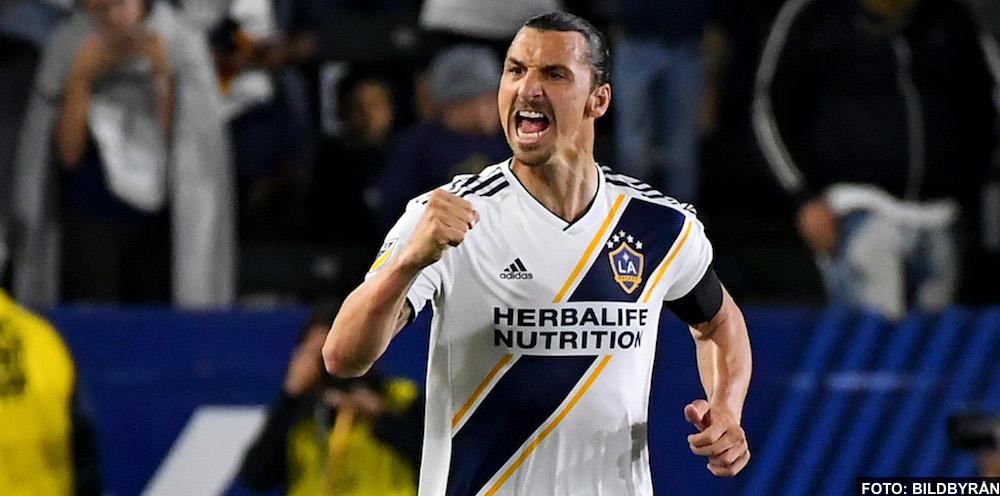VIDEO: Zlatan Ibrahimovic mål mot Philadelphia (2-0) - LA Galaxy vs Philadelphia Union 0-2, 2019-04-14