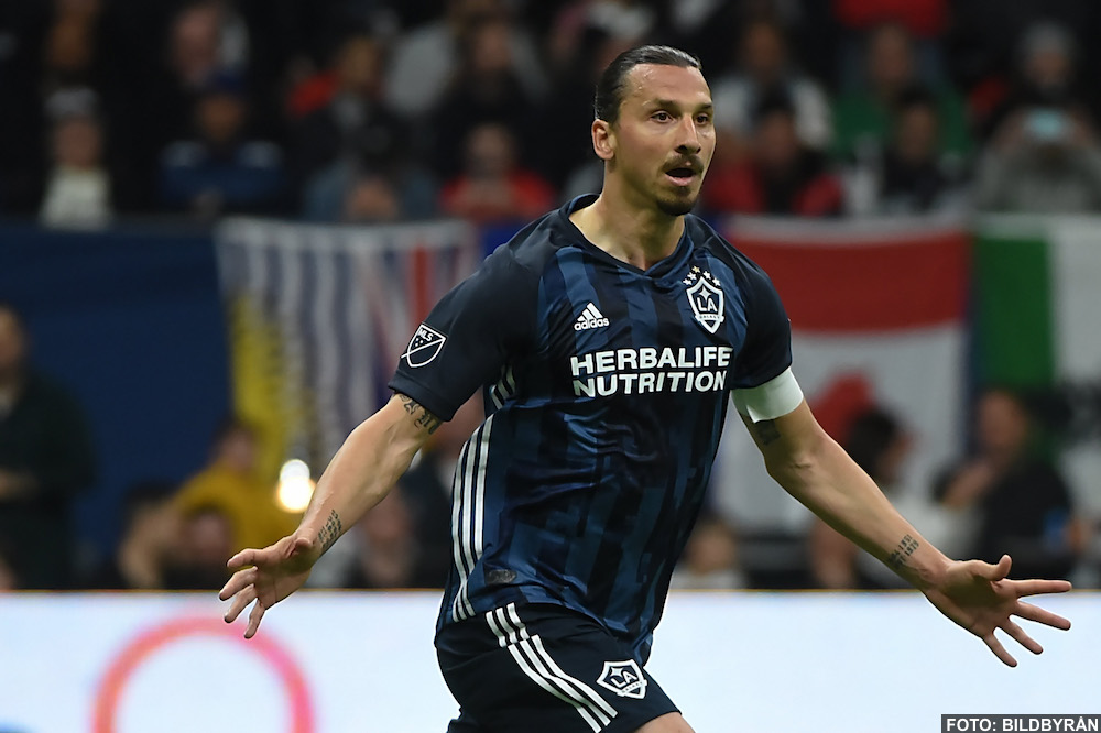VIDEO: Zlatan Ibrahimovic mål mot Vancouver (0-2) - Vancouver vs LA Galaxy 0-2, 2019-04-06