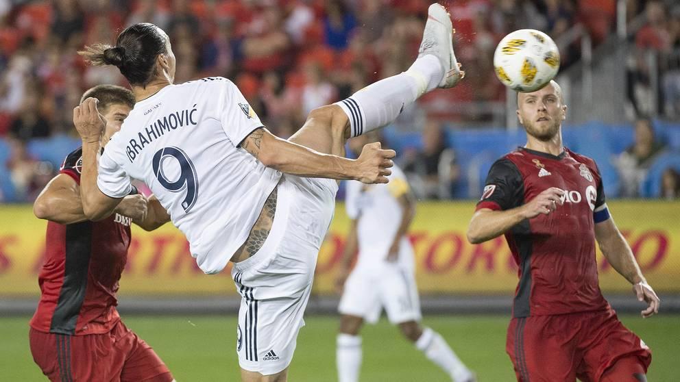 Zlatans mål igår