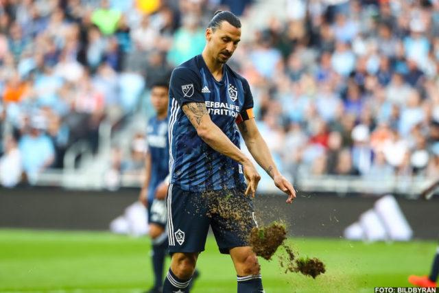 Zlatans målsvit bruten när Galaxy kryssade inatt