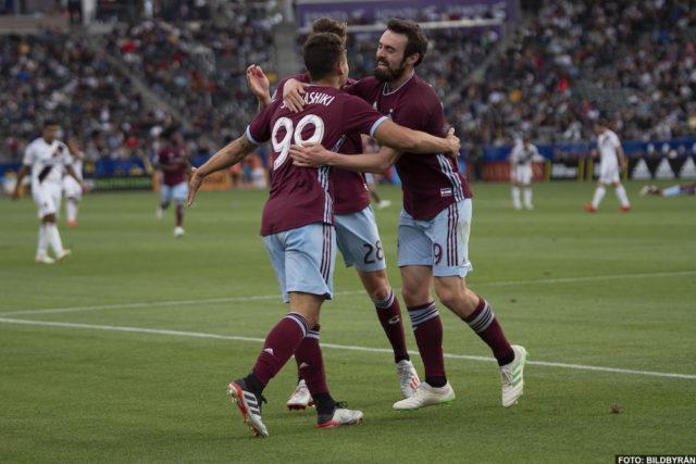 Galaxy föll i natt i Zlatans frånvaro