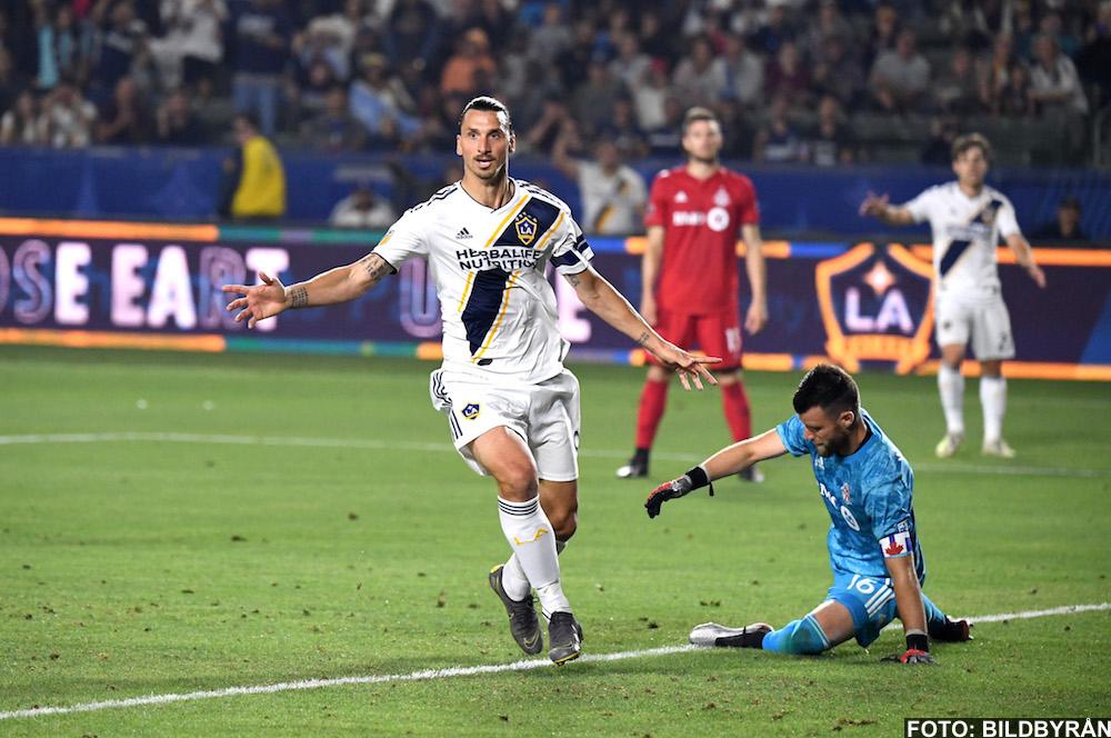 VIDEO: Zlatan Ibrahimovic mål mot Toronto FC (2-0) - 2019-07-05