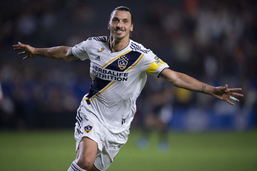 VIDEO: Zlatan Ibrahimovic mål mot Sporting Kansas (7-2) - 2019-08-18