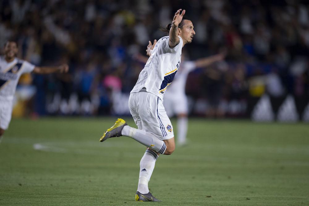 Zlatan tvåmålsskytt i derby