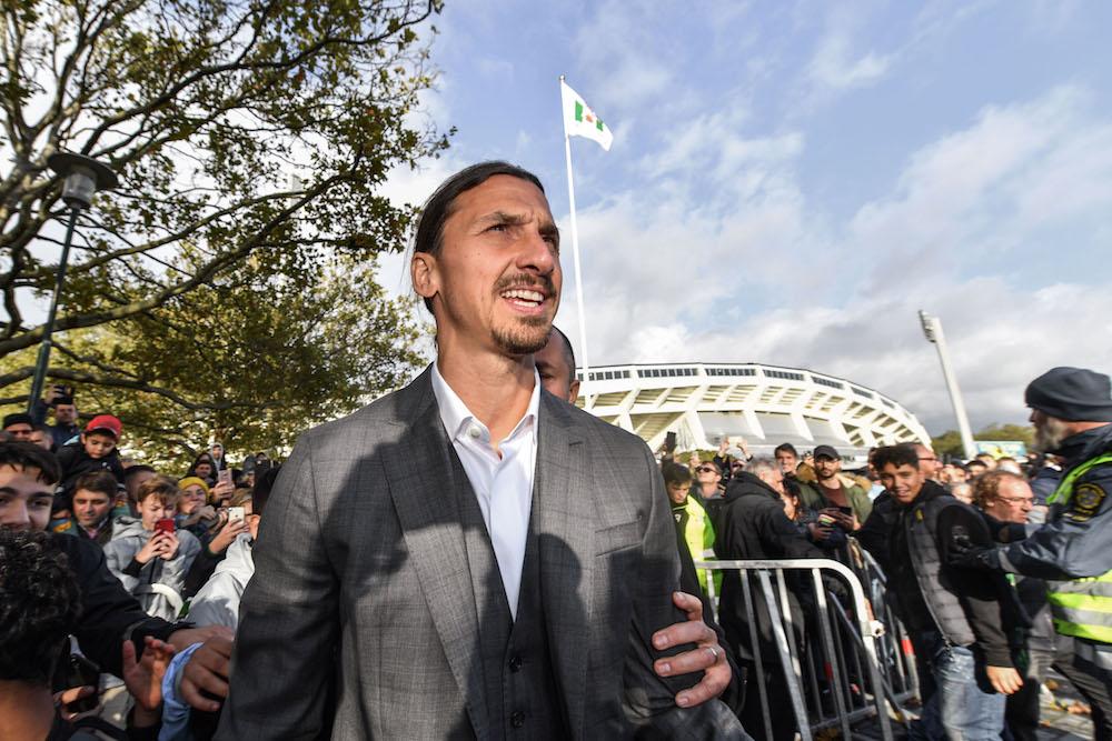 Bekräftar: Har varit i kontaktat Zlatan