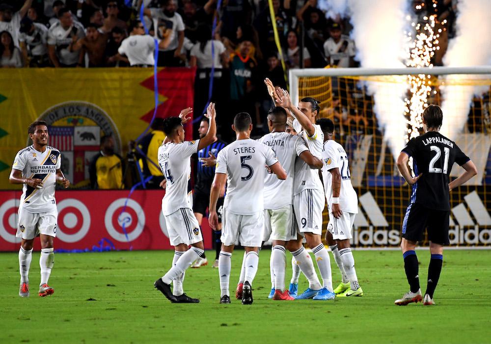 Zlatan vidare när LA Galaxy tog sig till semifinal i MLS