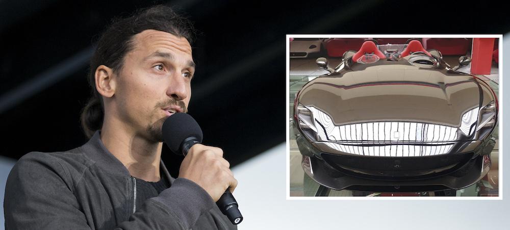 Zlatans födelsepresent till sig själv - så mycket kostar vrålåket