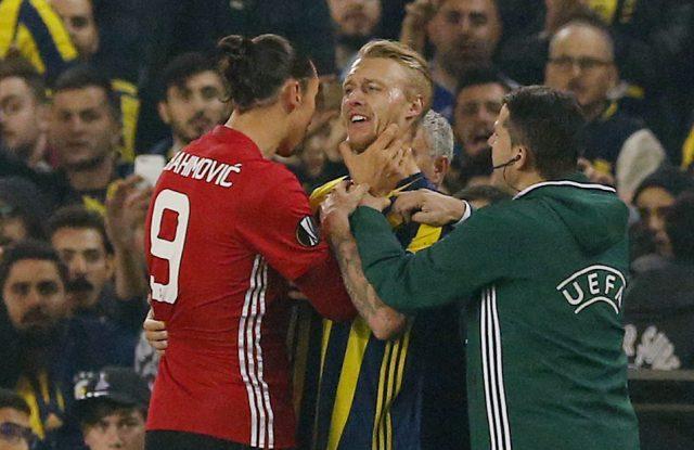 Tre år efter strypgreppet - blir lagkamrat med Zlatan