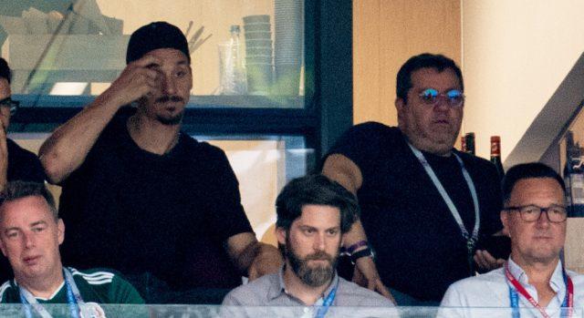 Uppgifter: Zlatan kan jobba med Raiola efter karriären