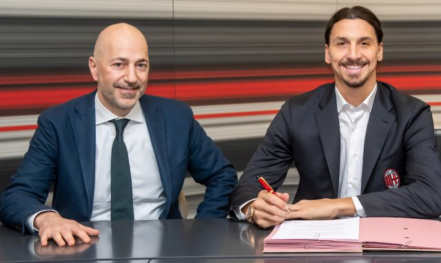 Uppgifter: Zlatan Ibrahimovic i bråk med Milans VD
