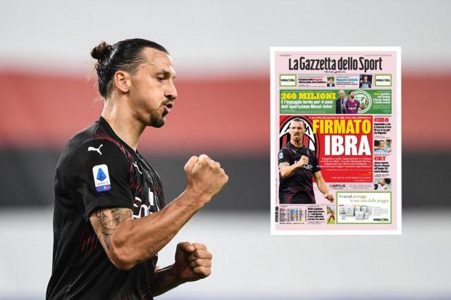 Uppgifter: Zlatan Ibrahimovic kan skriva på för Milan innan helgen