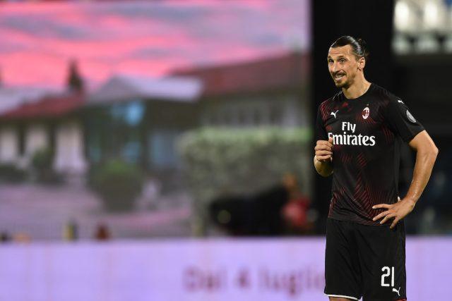 Zlatan Ibrahimovic kan starta mot Lazio