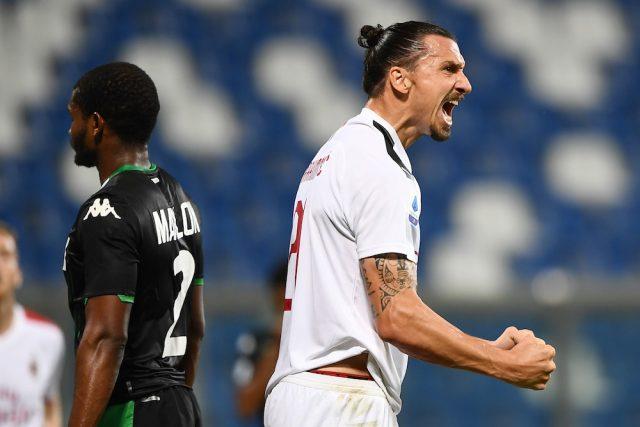Zlatan ny matchhjälte - sänkte Sassuolo med dubbla mål