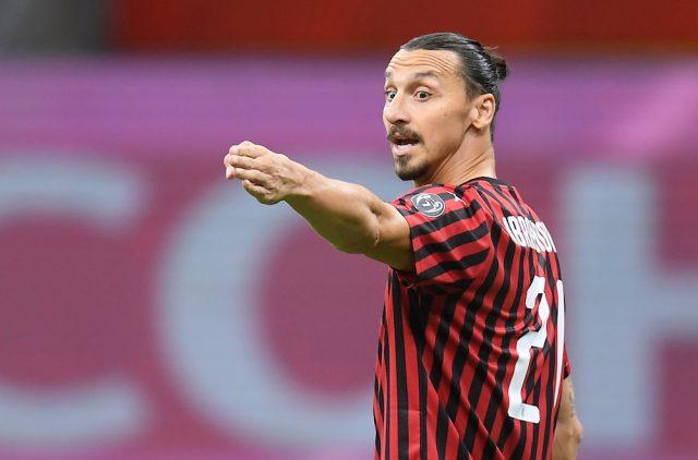Zlatans hintar om fortsättning i AC Milan