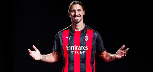 Officiellt Zlatan Ibrahimovic har skrivit på nytt kontrakt