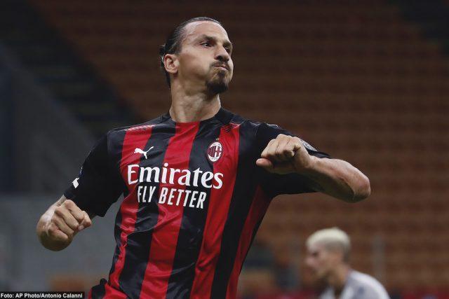 VIDEO: Zlatan med två mål i Milano-derbyt