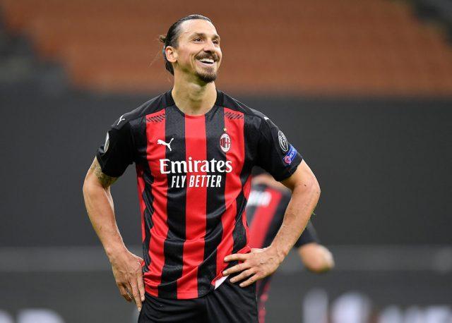 Tidningen insisterar: Zlatan Ibrahimovic stannar i AC Milan till 2022