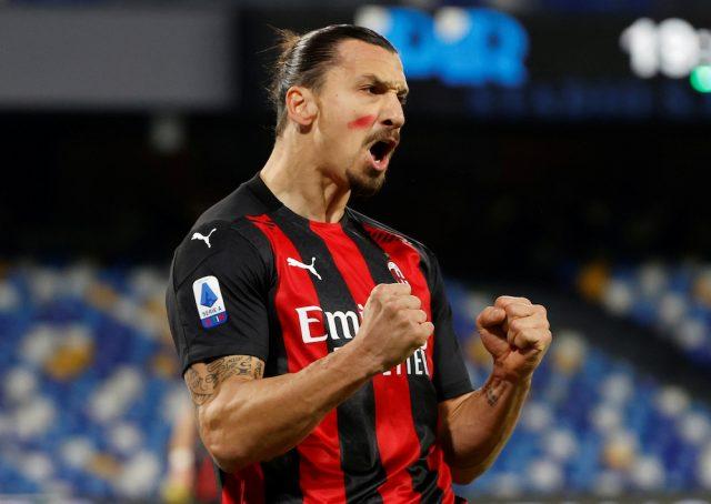 VIDEO: Zlatan avgjorde toppmötet med Napoli