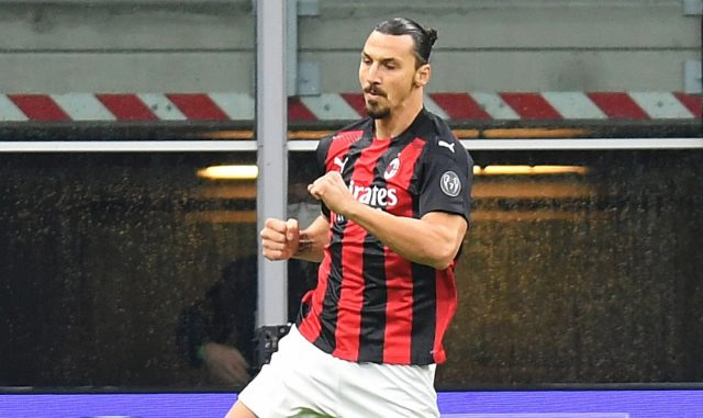 Zlatan utsedd till månadens MVP i Serie A