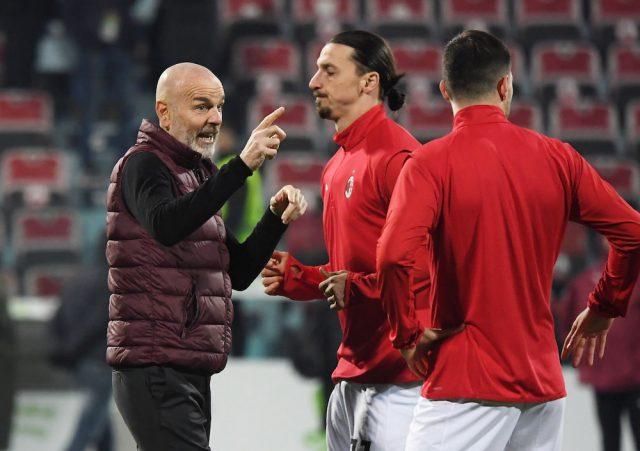 Stefano Pioli vill att Milan förlänger med Zlatan Ibrahimovic