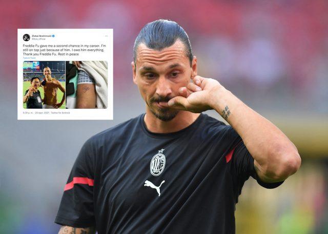 Zlatan hyllar bortgångne kirurgen: